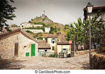 pennabilli, italie, village