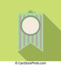 Pennant with circle