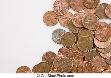 Pennies horizontal