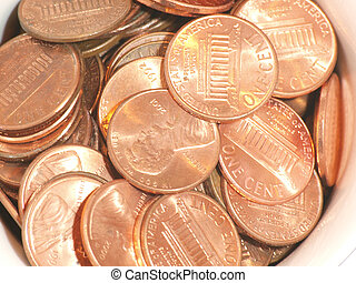 Pennies in a cup 1