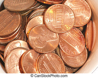 Pennies in a cup 2