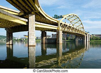 pennsylvania , γέφυρα , pittsburgh