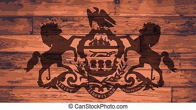 Pennsylvania Flag Brand