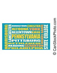 Pennsylvania state cities list