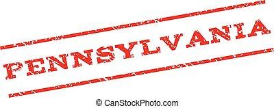 Pennsylvania Watermark Stamp