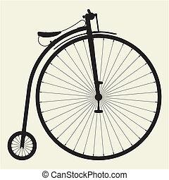 penny-farthing, bicicleta