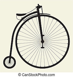 penny-farthing, bicicletta