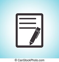 pen/paper, έγγραφο , εικόνα