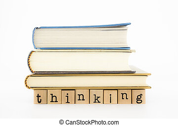 pensée, livres, rédaction