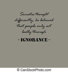 pensée, socrates, differently..., quotes., aristotle