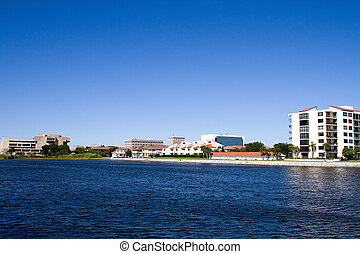Pensacola Waterfront - Condominiums, offices and government...