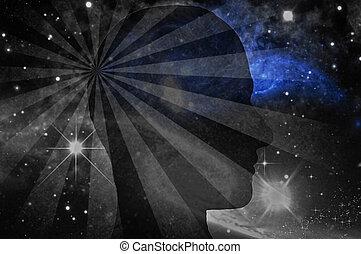 pensament, espace