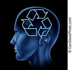 pensamiento, conservación