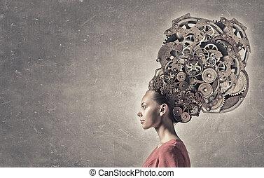 pensamiento, mecanismos