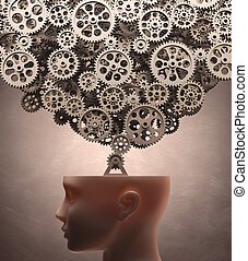 pensando, máquina