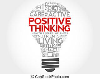pensando, positivo