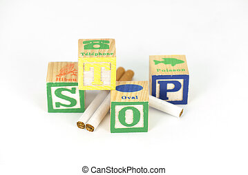 pensar, é, tempo, parar, fumar