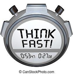 pensare, digiuno, timer, cronometro, quiz, risposta, concorso