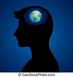 pensatore, globale