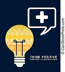 penser, positif