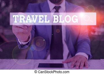 pensieri, concettuale, mano, esposizione, affari, foto, esperienze, scrittura, testo, viaggiare, blog., intorno, locali, condivisione, world.