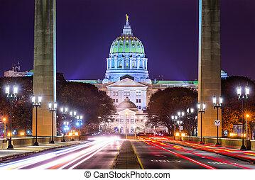 pensilvânia, congresso estadual
