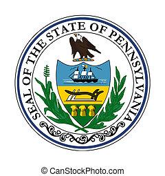 pensilvania, estado, sello