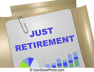 pensioen, concept, zelfs, zakelijk