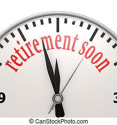 pensioen, spoedig