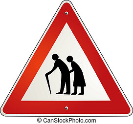 pensionären, avgång, uppmärksamhet