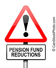 Pension fund disappointment.