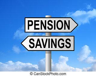 Pension Savings Signpost