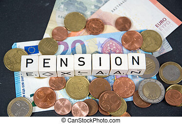 Pension - symbol photo for pension