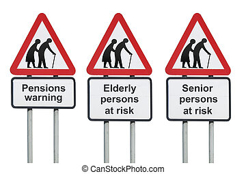 Pensions and retirement warning - Pensions, seniors and...