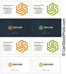 pentagram business card 1