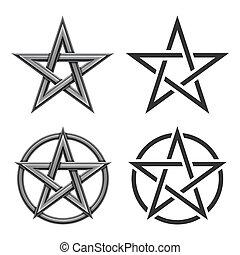 Pentagram Symbol Collection