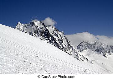 pente ski