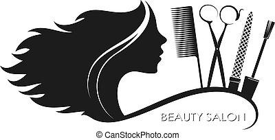 penteados, salão, beleza, manicure