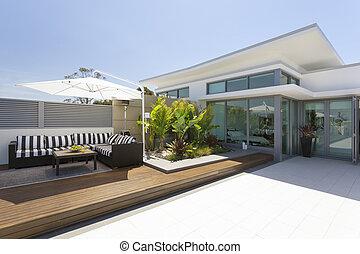 penthouse, balkon