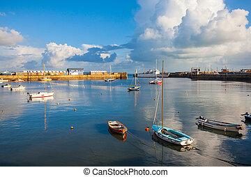 penzance, porto,  Cornwall