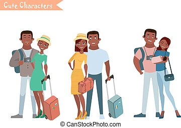 People and family traveling on vacation. Family travel....