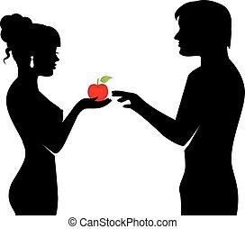 people and the forbidden fruit