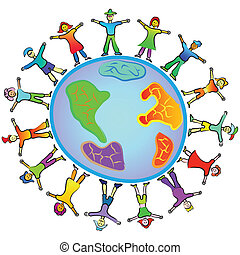 people around the world - people diversity around the world