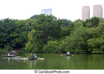 People at Central Park, New York