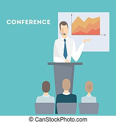 People at conference.