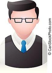 People Avatar Icons - Businessman