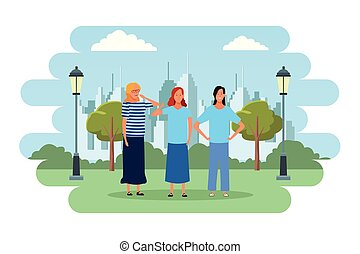 people avatars cartoon characters