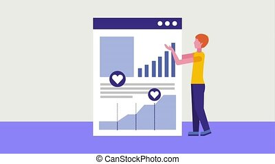 people business animation