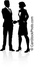 People Business Silhouette