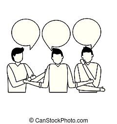 people business talk